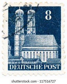 GERMANY - CIRCA 19: A stamp printed in Germany, shows , circa 19