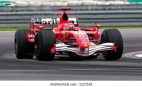 Germany formula one driver Michael Schumacher of Scuderia Ferrari Marlboro Team, 2006