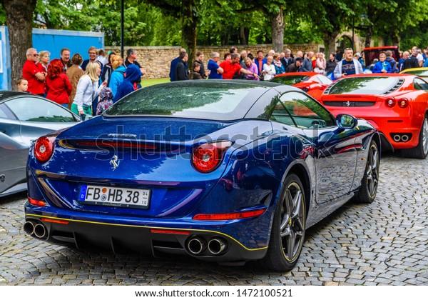 Germany Fulda Jul 2019 Dark Blue Stock Photo Edit Now 1472100521