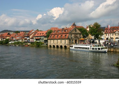 Germany.  The riverside town in Bavaria.