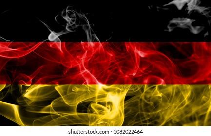 Germany smoke flag