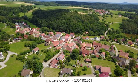Germany village drone foto
