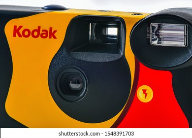 GERMANY-January 29,2019: KODAK film camera.Kodak is an American technology company that produces imaging products with its historic basis on photography.