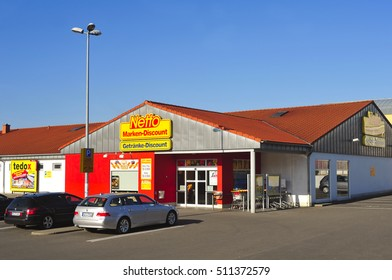 GERMANY-OCT 30:Netto Marken-Discount store on October 30,2016 Germany.Netto Marken-Discount is a German supermarket chain.