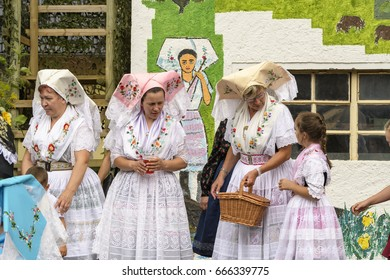 Gernany , Nauendorf in the Spreewald , 25.06.2017 , National costume party