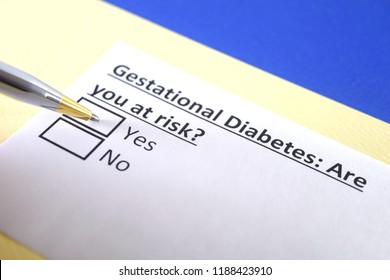 Gestational diabetes: are you at risk? yes or no