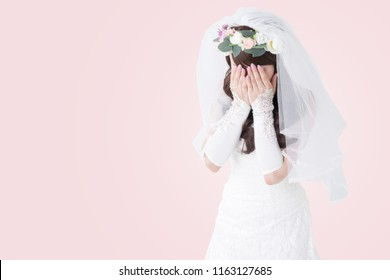 Gesture of the bride