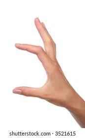 gesture -much