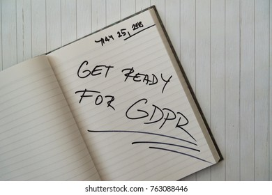 Get ready for general data protection regulation (GDPR)
