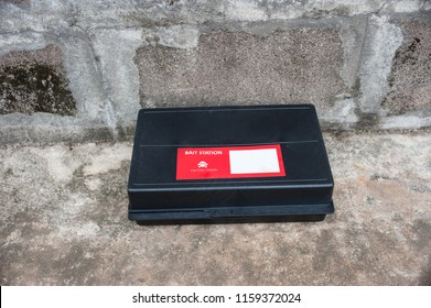 Get rid of rat using  bait poison box, pest control in industry.