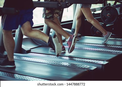 Get your body moving. People at gym.
