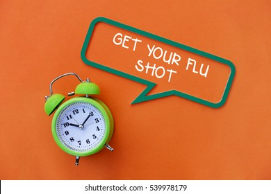 Get Your Flu Shot, Health Concept