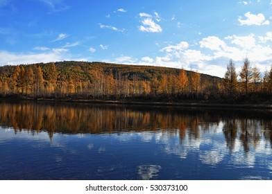 Getkan river. Amur region. Russia.