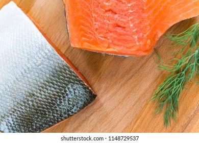 Getting ready to prepare some wild caught Alaskan Salmon