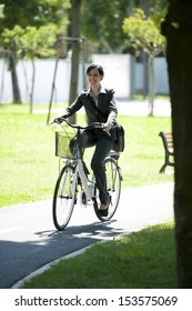Getting to work by bike