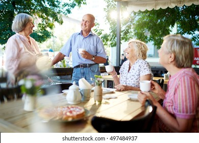 Get-together of seniors