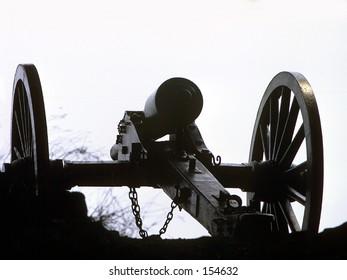 Gettysburg Battle Cannon