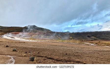 Geyser Golden Circle: Iceland