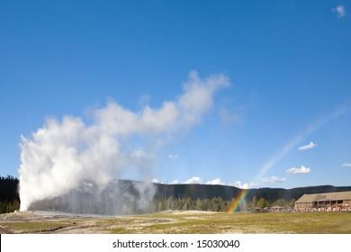 Geyser Rainbow