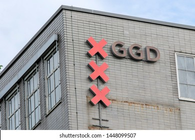 GGD Company Building At The Wibautstraat Street At Amsterdam The Netherlands 2019