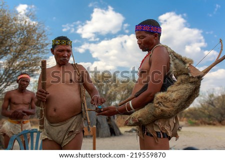 Think, that San people of botswana pity, that