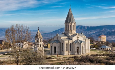 Ghazanchetsots Cathedral - a cathedral in city of Shushi in Nagorno Karabakh