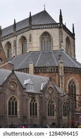 Ghent, Belgium, the Netherlands, January 13, 2019: Saint Bavo's Cathedral