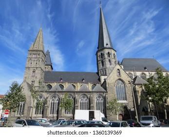 Ghent / Belgium - September 10, 2016: Saint James Church (Sint-Jacobskerk) in Ghent, Belgium.