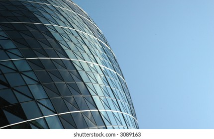 Gherkin building, the city, London