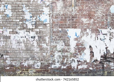 ghetto abandoned brick wall background