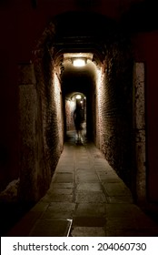 Ghost in an alley
