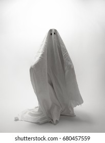 Ghost figure in a sheet - Halloween