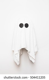 Ghost on white background