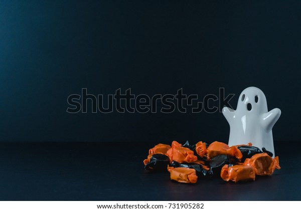 Ghost protecting its candy! -