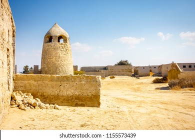 Ghost town of Al Jazirat Al Hamra in Ras Al Khaimah, UAE