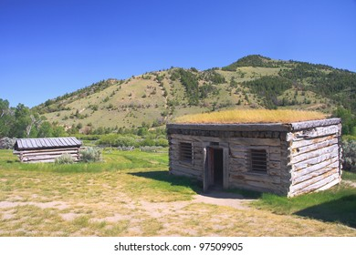 Ghost town, Bannack State Park, Montana