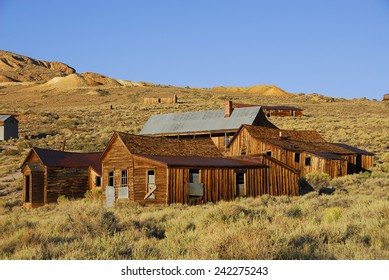 Ghost town Bodie State Park, California