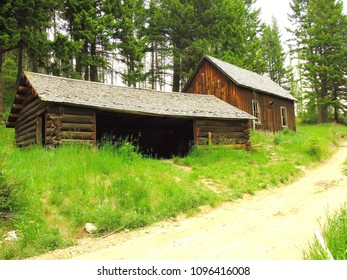 Ghost Town: Building in Garnet State Park, Montana