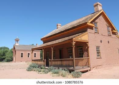 Ghost town Grafton (Utah, USA)