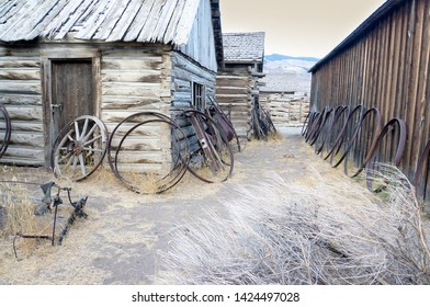 ghost town, old wild west