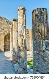 Ghost Town of Pompeii  Italy