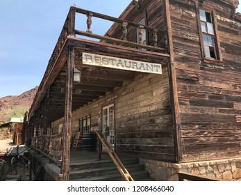 Ghost town restaurant