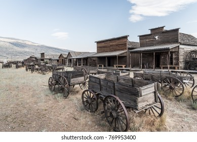 Ghost Town in Wyoming