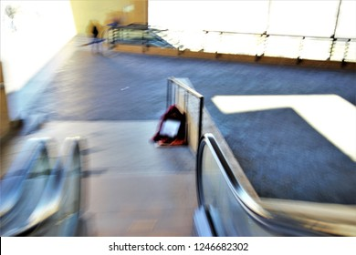 ghostly human figure of poor begging on the street, photographic sweep, sensation of movement, blurred people, social photography, impressionist photography, abstract, atmosphere, misery, poverty,
