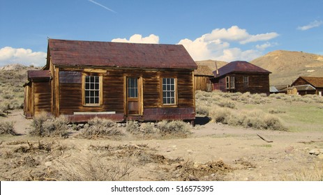 The ghosttown of Bodie - California.