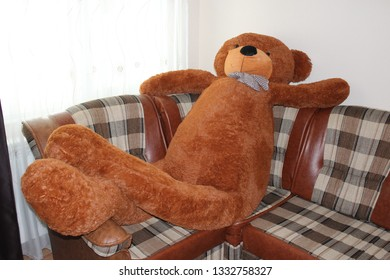 Remarkable Teddy Bear Big Red Images Stock Photos Vectors Shutterstock Interior Design Ideas Inesswwsoteloinfo
