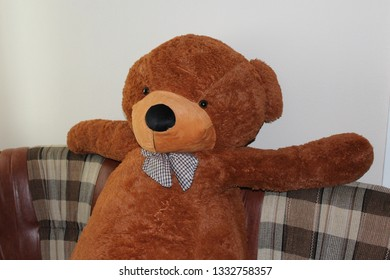 Admirable Teddy Bear Big Red Images Stock Photos Vectors Shutterstock Interior Design Ideas Inesswwsoteloinfo