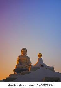 Giant Buddha Statue in Kaohsiung, Taiwan