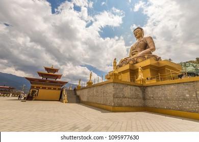 Giant Buddha in Thimpu Bhutan