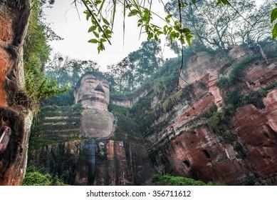 Giant Buddha(Da fo) scenic spot - Leshan, Sichuan, China